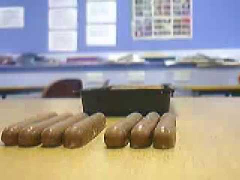 Chocolate Fingers Stop Motion