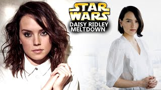 Daisy Ridley Meltdown With Star Wars Gets Worse! (Star Wars Explained)