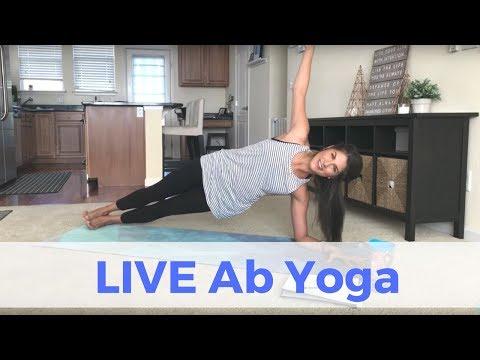 Live Ab Yoga Challenge