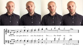 tag tutorial clouds on fire terry s chapman barbershop quartet
