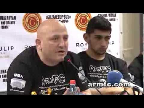 ArmFC-12 Official Weigh-In Press  ( MMA Armenia)