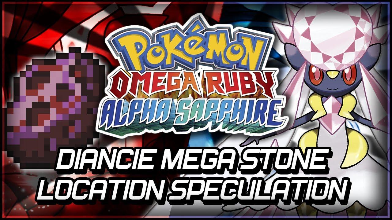 Pokémon Omega Ruby and Alpha Sapphire | Diancie Mega Stone ...