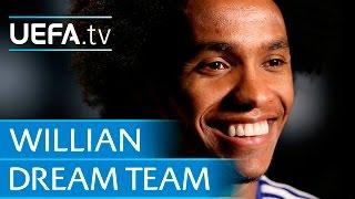 Willian: My dream five-a-side
