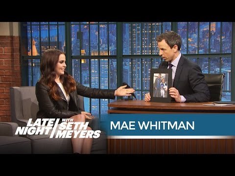 Mae Whitman Has Made Out with Three Friday Night Lights Cast Members - Late Night with Seth Meyers