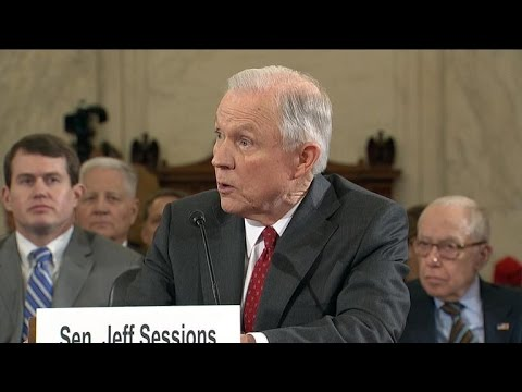 Sen. Jeff Sessions says he opposes light sentences for low-level drug convictions