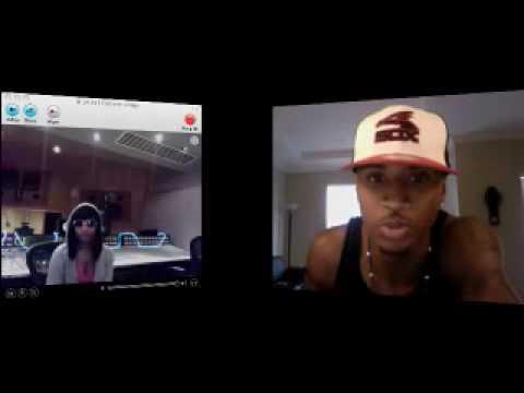 "Trey Songz and Nicki Minaj on USTREAM talking about ""Bottoms Up"" Pt. 1"