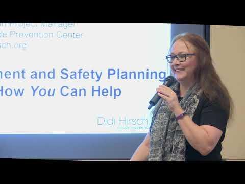 Suicide Prevention Workshop: Suicide Risk Assessment And Safety Planning