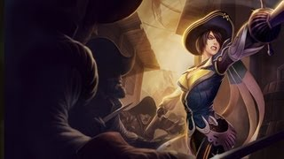 ★ League of Legends - Royal Guard Fiora Skin Overview! ft. MFPallytime - WAY