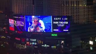 Brian May: Las Vegas never sleeps - and 2 MGMs 04/09/2018