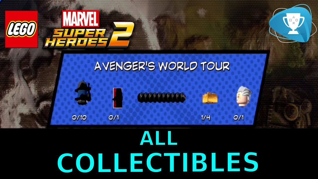 marvel lego level 2 minikits
