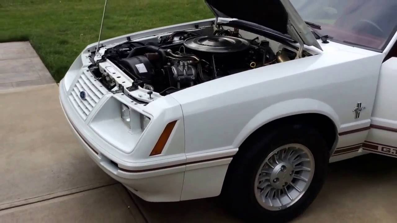 Picture of 1984 ford mustang gt350 exterior - 1984 Ford Mustang Gt 350 20th Anniversary
