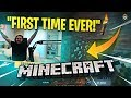 COURAGE PLAYS MINECRAFT FOR THE FIRST TIME EVER! (Minecraft)