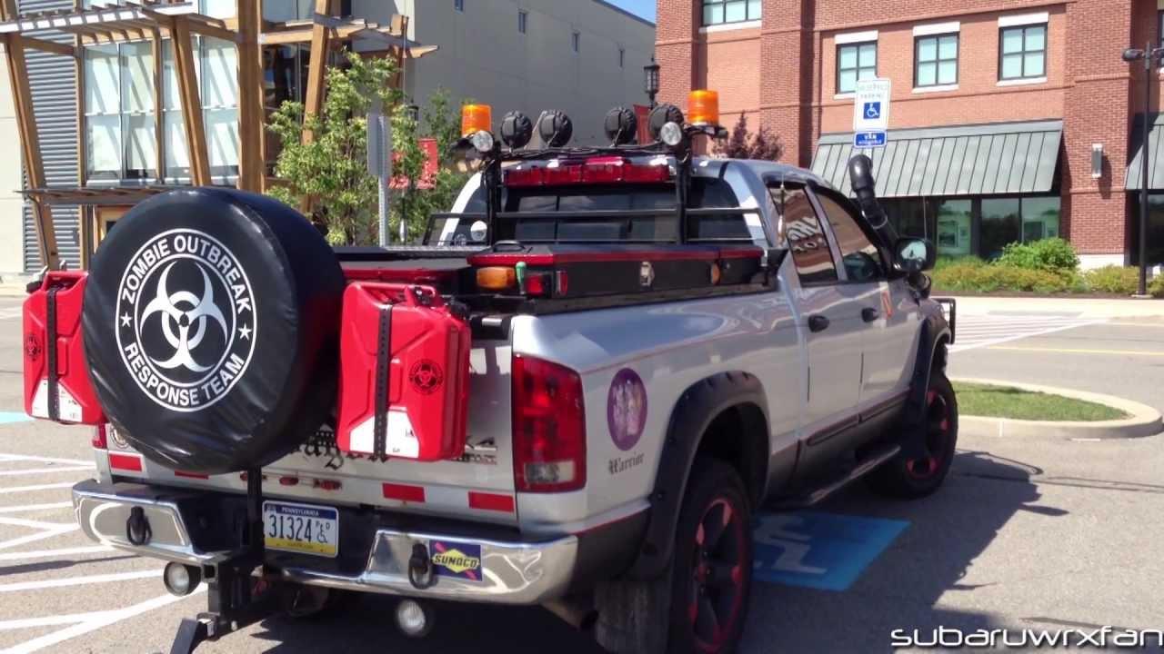 Zombie survival truck