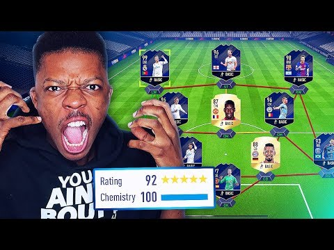 I GOT THE MOST TOTYs IN A DRAFT (WORLD RECORD BROKEN) W2S FUT DRAFT CHALLENGE - FIFA 18!!