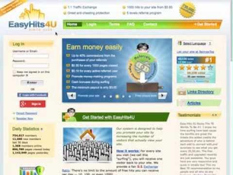 My Top Five Traffic Exchange Sites
