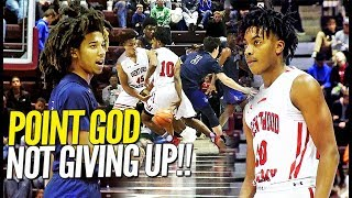 NOT GIVIN' UP!! Darius Garland Puts Up a FIGHT w/ 37 PTS vs La Lumiere! Isaiah Stewart Drops 35!