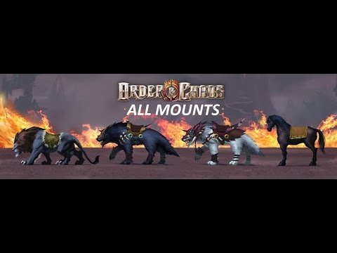 Order And Chaos Online - All Mounts