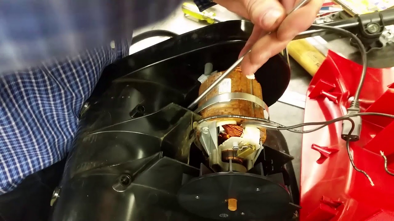 Toro Power Shovel How To Fix If Motor Is Dead Plus Re Assembly