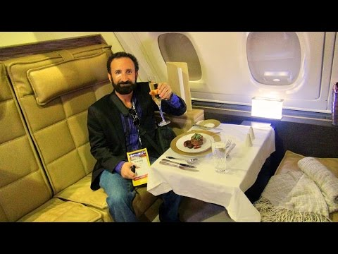 Tour of The Residence Etihad Airways First Class private suite