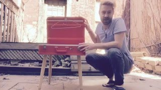 Repurposed Suitcase Side Table