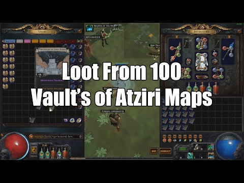 Loot From 100 Vault's of Atziri