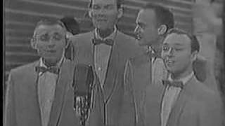 "Old Benny Goodman TV show footage of the Hi Lows singing ""Goody Goody"""