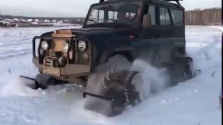 УАЗ-469 на гусеницах Stalker Track / motux.ru