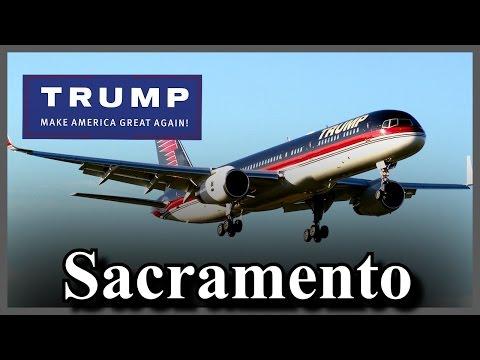 LIVE Donald Trump Sacramento California Rally Sacramento Jet Center FULL SPEECH HD STREAM (6-1-16)