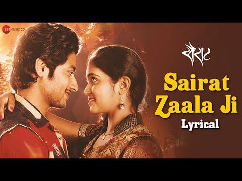Sairat Zaala Ji - Lyrical   Sairat   Ajay Atul   Rinku Rajguru & Akash Thosar   Nagraj Manjule