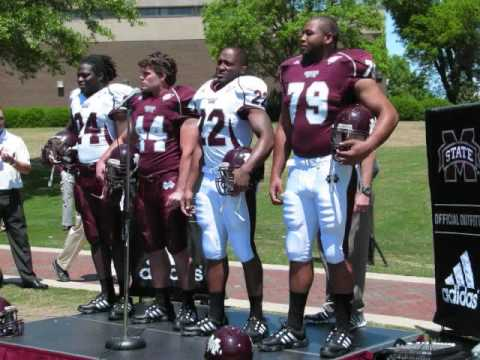 New Mississippi State Football Uniforms (2009)