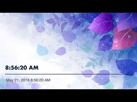 8:56:20 AM. ROSE COLORED GLASSES. ARTIST JOHN CONLEE. ROB SEDTAL SINGING...