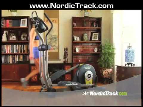 A Nordic Track Ellipse Machine - Home Fitness Equipment