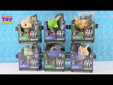 RIP Rainbows In Pieces Collectible Figure & Trading Card Unboxing | PSToyReviews