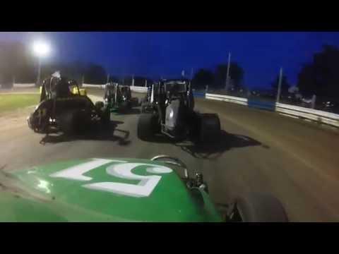 Ninja Feature Race at Starlite Speedway June 3 2016 First Twin Twenty