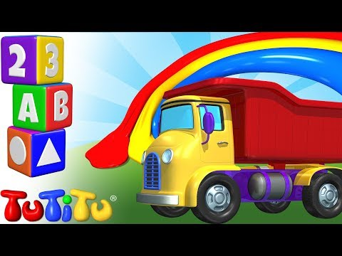 TuTiTu Preschool | Learning Colors for Babies and Toddlers | Truck