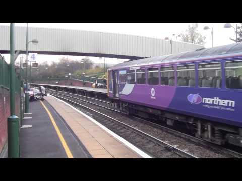Meadowhall Interchange Railway Station and Sheffield Supertram