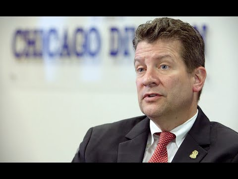 Chicago FBI Special Agent in Charge Michael Anderson