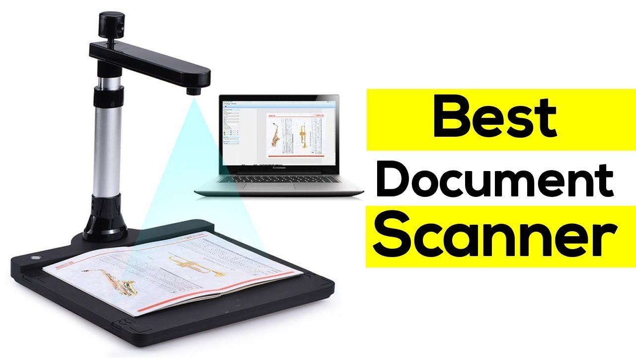 Top 5 Best Document Scanners To Buy In 2019 | High Speed Scanner