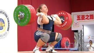2013 World Weightlifting Championships, Women +75 kg \ Тяжелая Атлетика. Чемпионат Мира