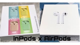 inPods 12 x AirPods with Surprise GIVEAWAYYY!!♡