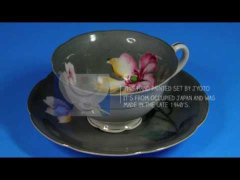 Collectible Tea Cups & Saucers | Vintage Bone China Tea Sets | Antique Tea Sets | Vintage Tea Cups