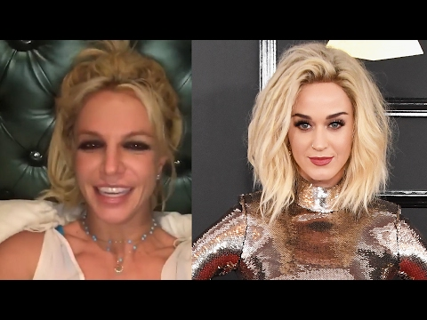 Britney Spears RESPONDS To Katy Perry's Mental Health Joke From The 2017 Grammys Red Carpet Mp3