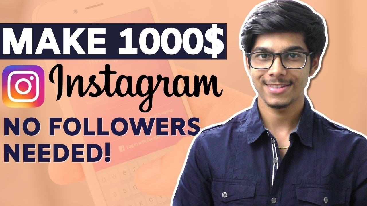 Make your First 1000$ from Instagram [ 5 Ways to Make Money on Instagram ] Make Money Tamil