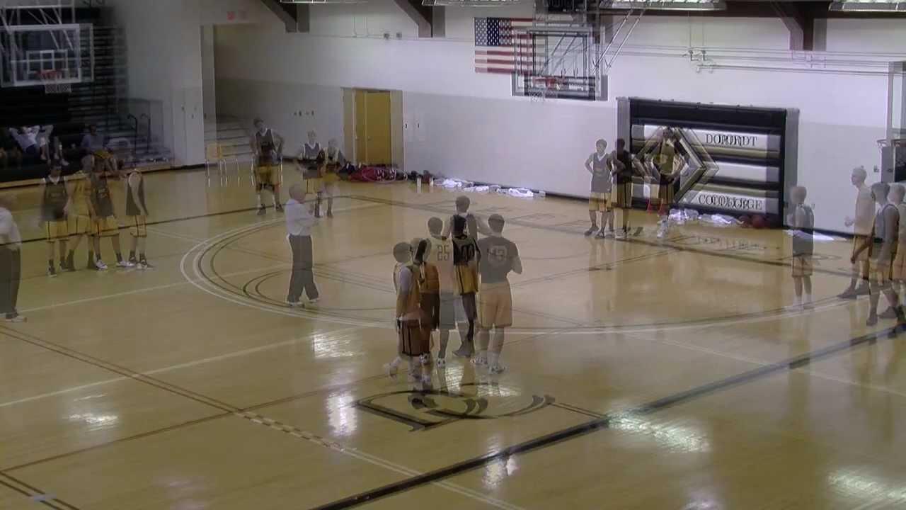 Basketball Star Passing Drill with Layups