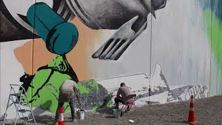 NEW ZEALAND'S WORTH LOVING - Unsealed - #3 of a pollution awareness mural tour