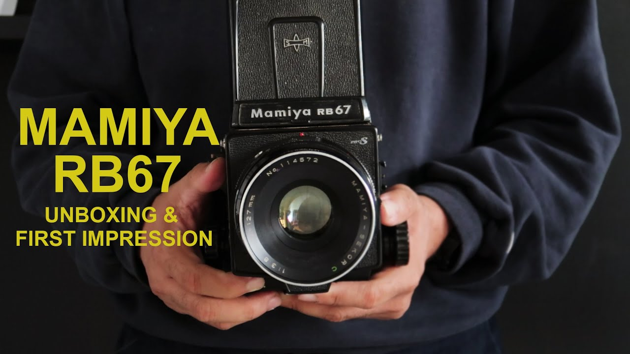 Mamiya RB67 Pro S - Unboxing & First Impression (eng sub)