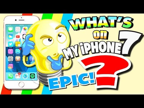 WHAT'S ON MY iPHONE 7 - 2017 (EVERYTHING on My iPhone) Best Apps That You MUST Have