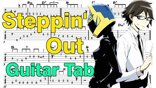 Learn How to Play Steppin' Out Fingerstyle Acoustic Guitar Lesson TABS Durarara x2 Ketsu OP by FLOW