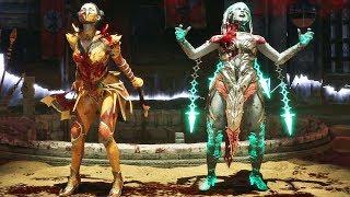"Brutality ""Labios Mortais"" da Kitana no Mortal Kombat 11"