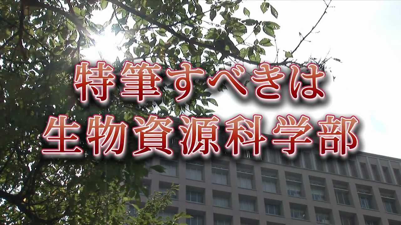 固定観念をぶち破れ! ~日本大学生物資源科学部の真実~ - YouTube